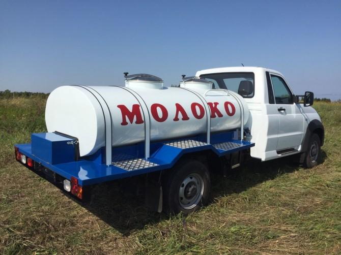 «Профи» будет бензовозом имолоковозом: УАЗ сертифицировал две новые модификации
