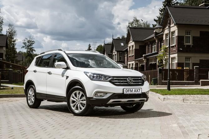 Автоновинка— DFM AX7 снова вышел на русский рынок автомобилей
