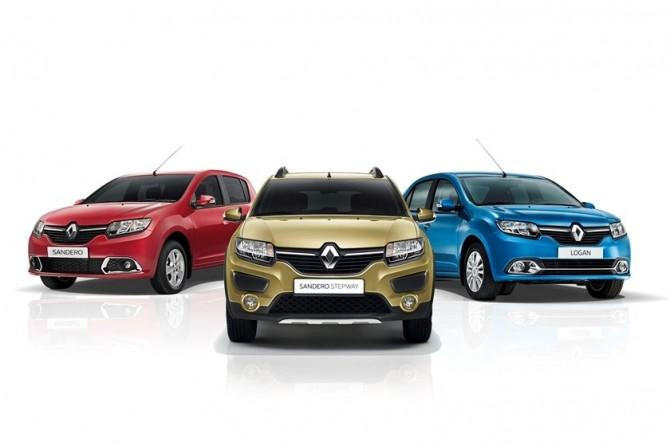 Renault повысила цены на Logan, Sandero и Sandero Stepway