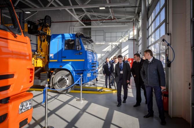 КАМАЗ открыл новый дилерский центр в Воронеже
