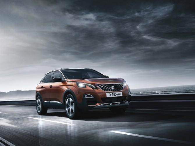 Кроссовер Peugeot (Пежо) 3008 стал бестселлером марки вРФ по результатам января