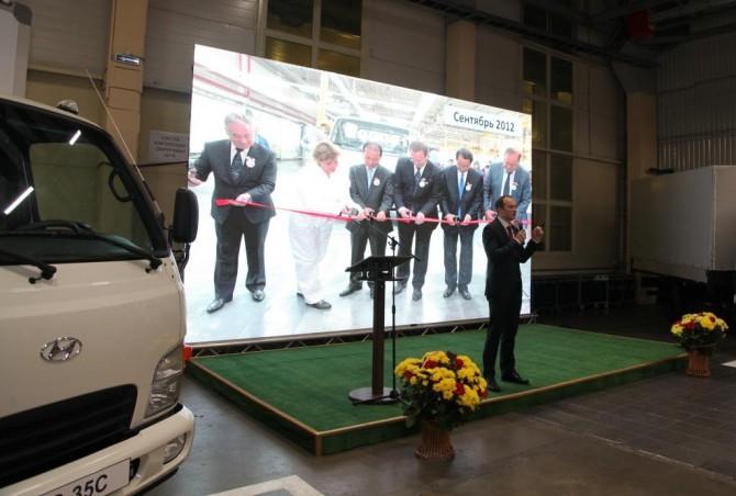 «Автотор» вКалининграде начинает производство фургонов Хёндай HD35 по абсолютному циклу
