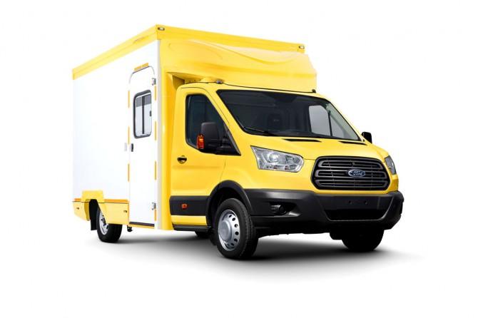 Ford Transit grimwagen ext1200