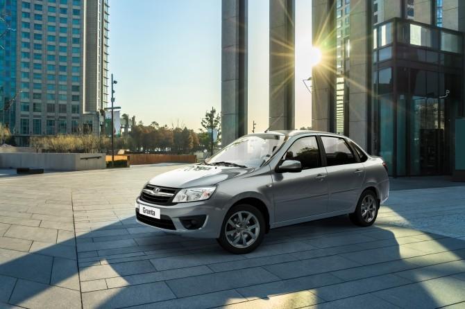 Тольяттинский «АвтоВАЗ» представил новейшую версию известной модели Лада Granta «City»
