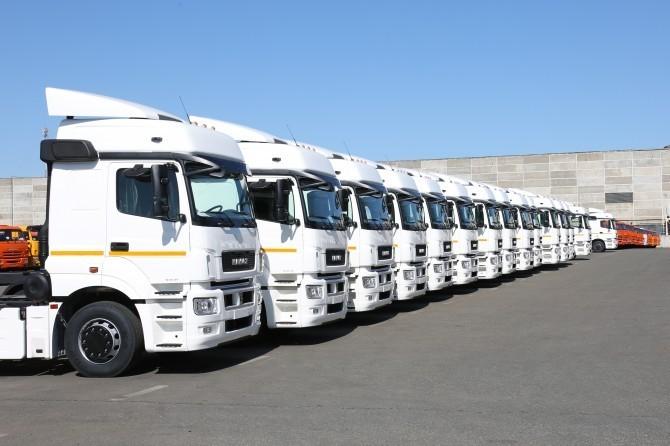Всередине зимы в Российской Федерации продали на40% больше фургонов