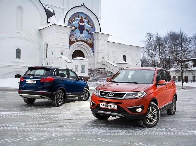 Продажи китайских авто в РФ кконцу зимы увеличились на17%
