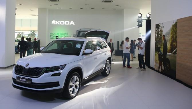 SKODA AUTO запускает продажи автомобилей в Сингапуре (2)