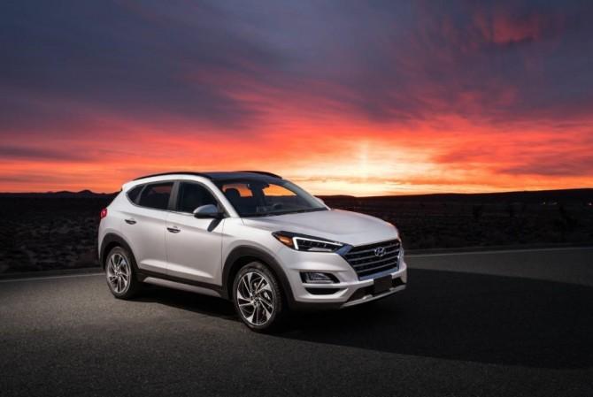 Hyundai представила обновленный кроссовер Tucson