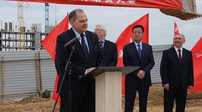 Под Минском начали строить завод повыпуску моторов для России