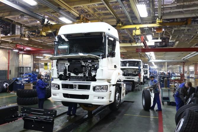 «Камаз» вIквартале увеличил производство на6,8%