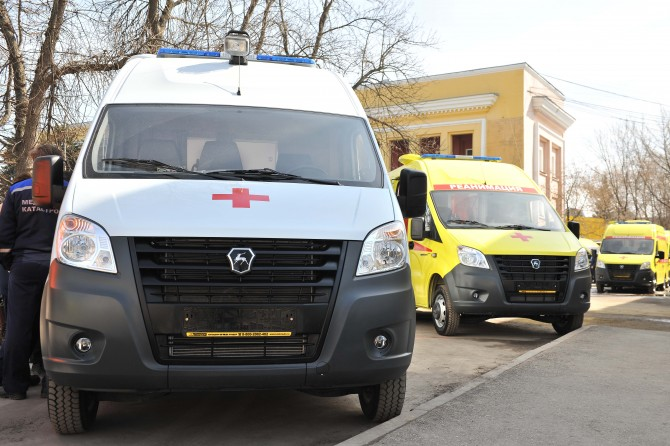 «Группа ГАЗ» поставила автомобили скорой помощи для обеспечения Чемпионата мира по футболу