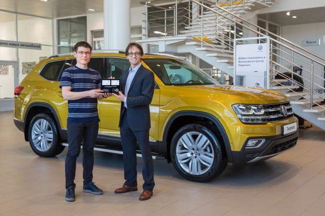 Первый Volkswagen Teramont продан в России