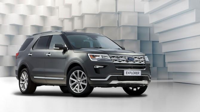 Улучшенный Форд Explorer уже поступил напродажу в РФ