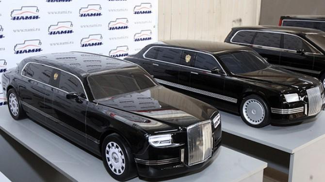 В.Путина ожидают наинаугурации нановом бронированном автомобиле из«Кортежа»