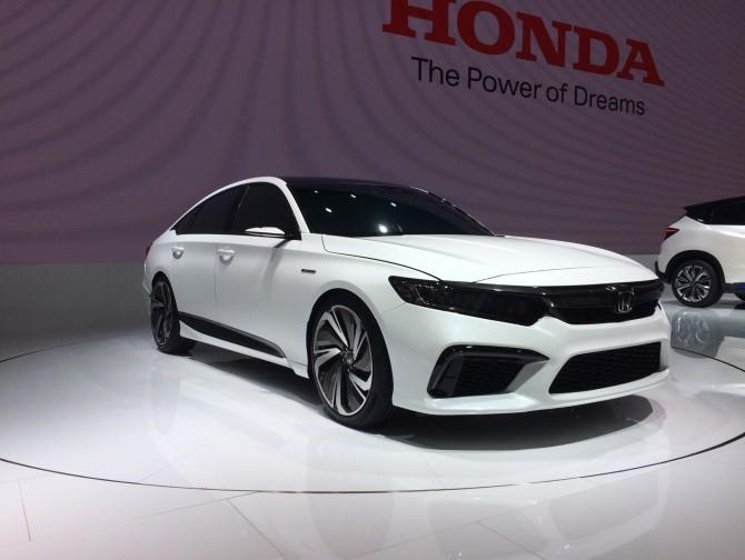 Honda Accord на автосалоне в Пекине