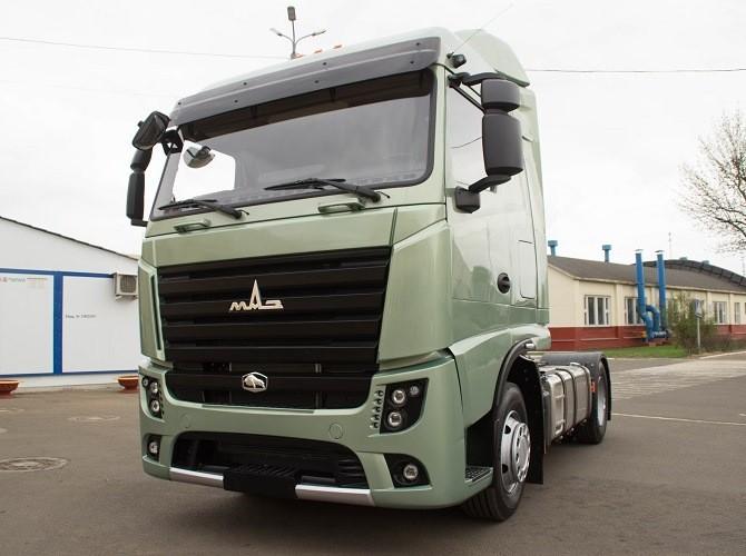 МАЗ выпустил серийный грузовик класса Евро-6