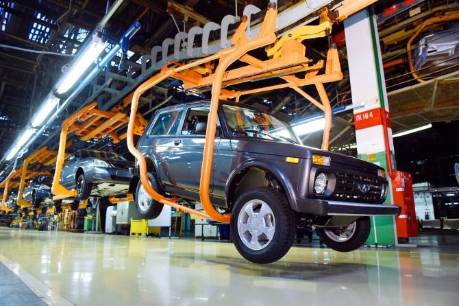 После майских каникул запущены конвейеры волжский автомобильный завод  иGM-АВТОВАЗ