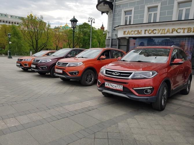 Составлен апрельский ТОП-10 самых известных китайских авто вРФ