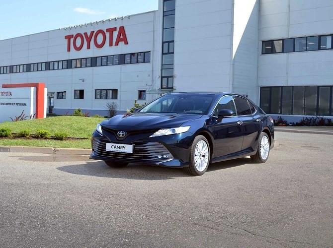 Toyota официально запустила производство новой Toyota Camry вРФ