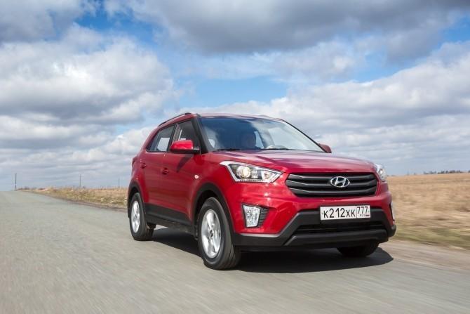 Hyundai Creta – лидер рынка SUV в городах-миллионниках