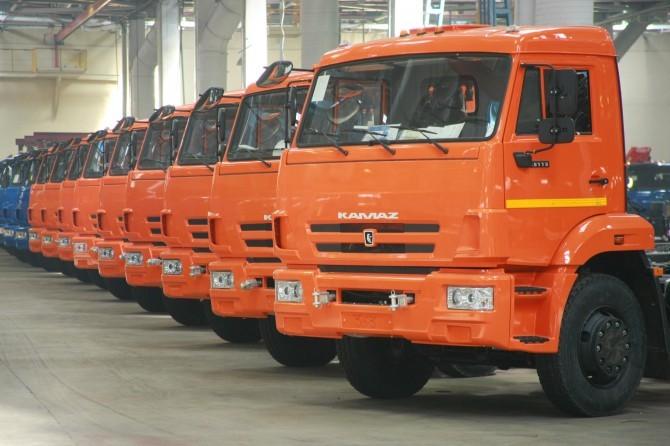 КАМАЗ в1 полугодии выпустил неменее 18 тыс. авто