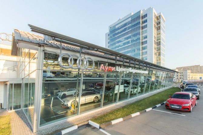 АВТОСТАТ   Audi открыла новый дилерский центр в Москве b6c1ecfe4d9