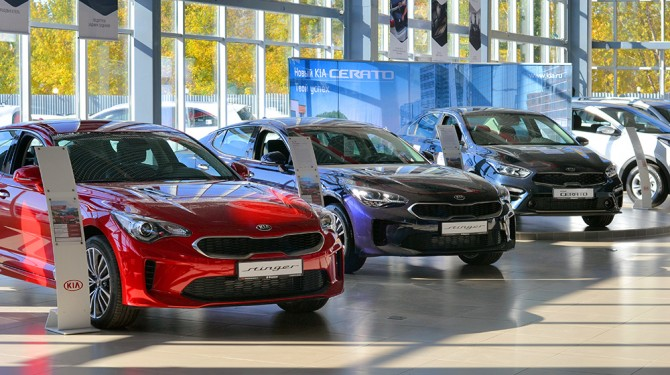 Более 36% автомобилей KIA в ноябре проданы в кредит