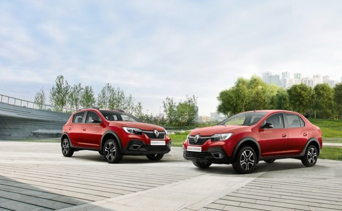 Renault Logan и Sandero доступны в новой серии Stepway City