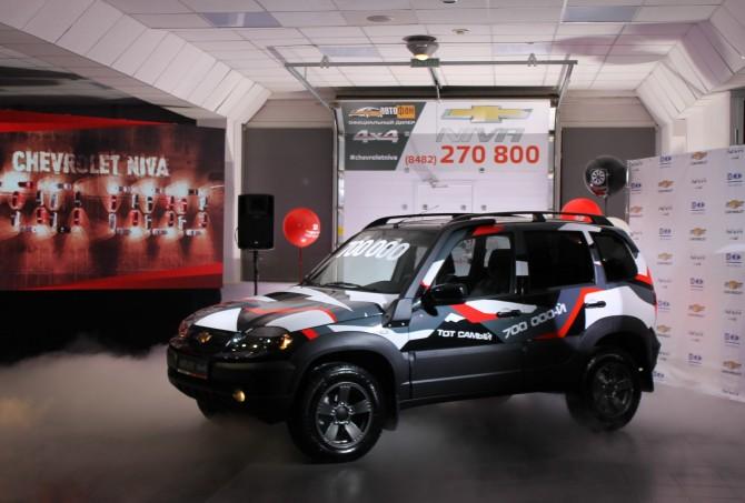 700-тысячный внедорожник Chevrolet Niva нашел своего владельца