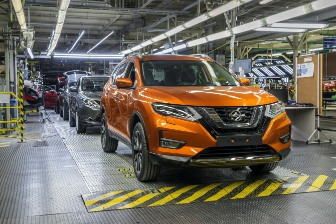 Nissan conveyor 2018