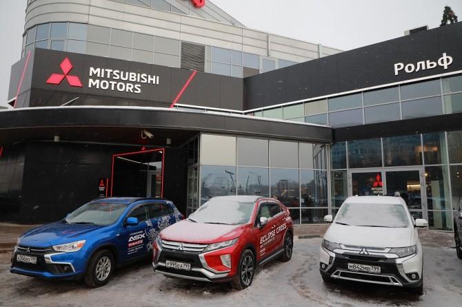 Открылся первый в России дилерский центр Mitsubishi, оформленный в новом глобальном дизайне
