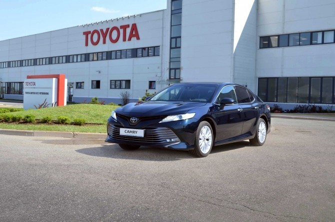 Toyota в ноябре увеличила продажи в России на 16%