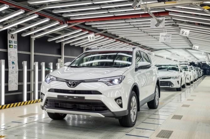 Петербургский завод Toyota уходит на зимние каникулы