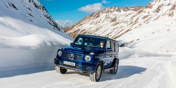 Новый Mercedes-Benz G-Class получил дизельный двигатель