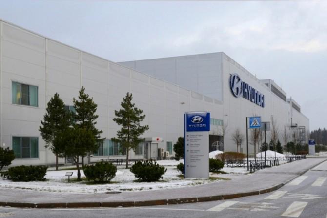 Hyundai plant winter