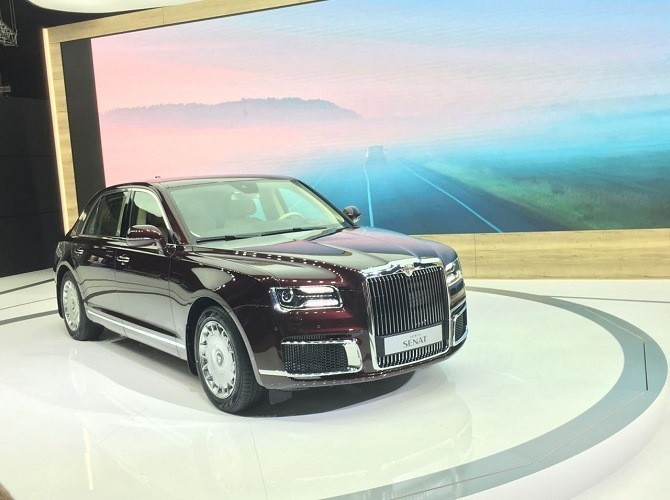 На автомобили Aurus принято более 200 заявок