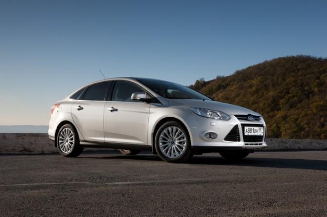 Ford Focus - лидер вторичного рынка в Питере
