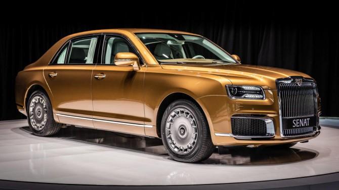 В Женеве прошла европейская премьера автомобилей Aurus Senat