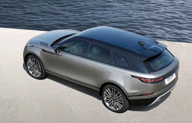 Range Rover Velar получил спецсерию BASE