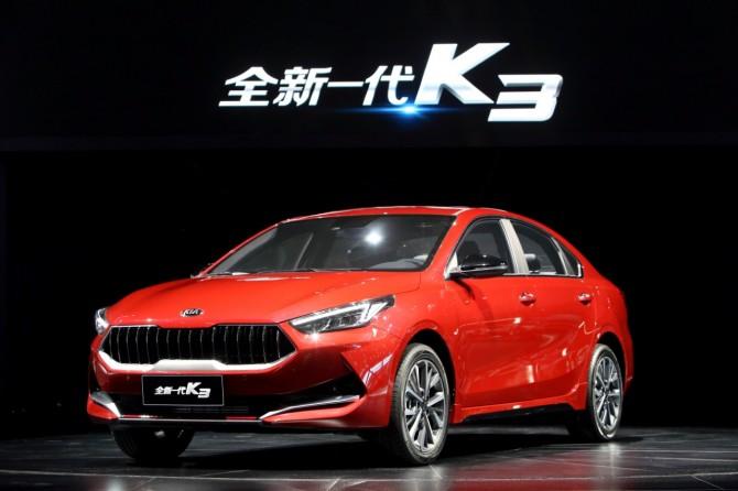 KIA представила новый седан K3 для китайского рынка