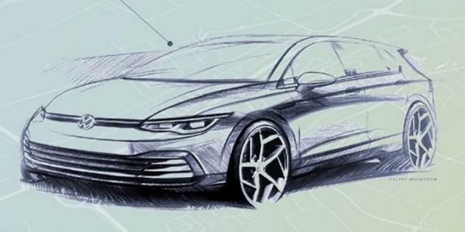 Volkswagen раскрыл внешность нового Golf