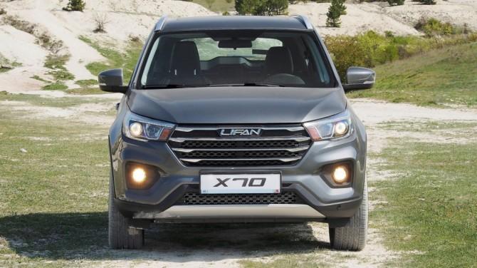 Lifan Х70 вернется на российский рынок через три месяца