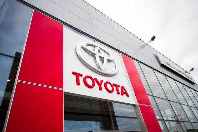Toyota с начала года увеличила продажи в России на 2%