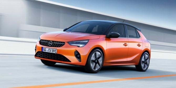 Новая Opel Corsa получила электромотор