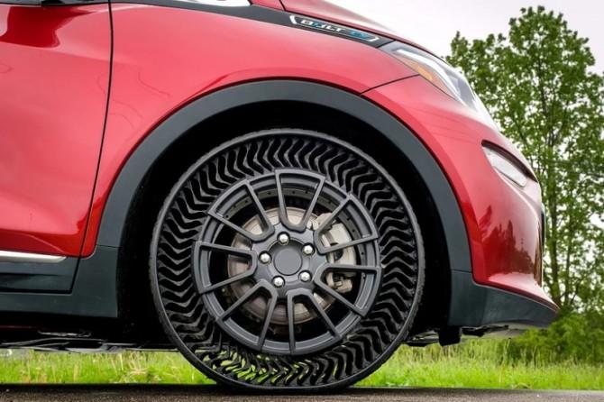 GM и Michelin проводят испытания безвоздушных <b>шин</b> :: Новости ...