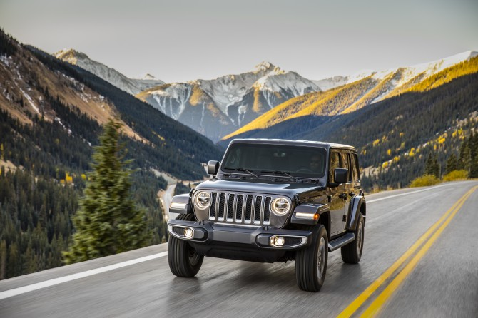 Jeep в мае увеличил продажи в России на 10%