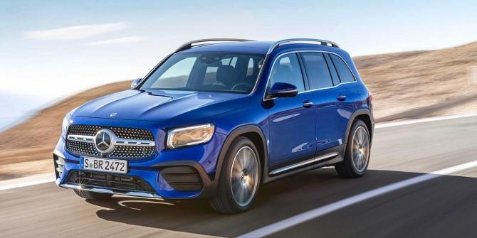Mercedes-Benz представил семиместный кроссовер GLB