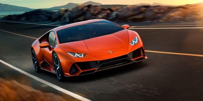 В России стартуют продажи Lamborghini Huracan Evo