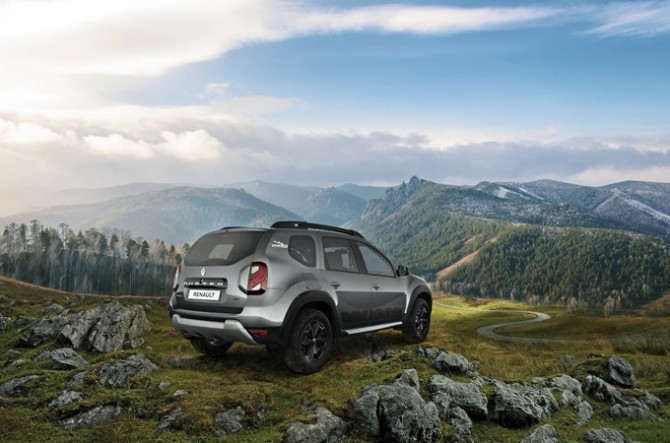 В России продано 400 тысяч кроссоверов Renault Duster