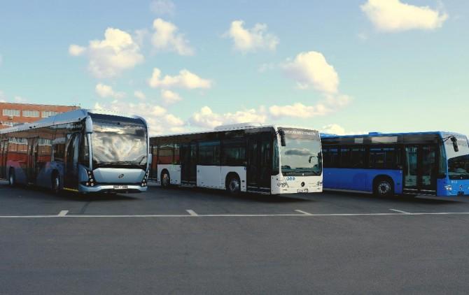 В Санкт-Петербург на тесты прибыли электробусы из Вологды и Германии